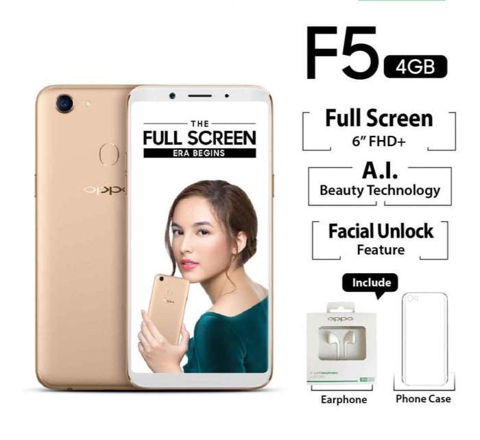 harga Oppo f5 - 4/32 gb - new gold Tokopedia.com
