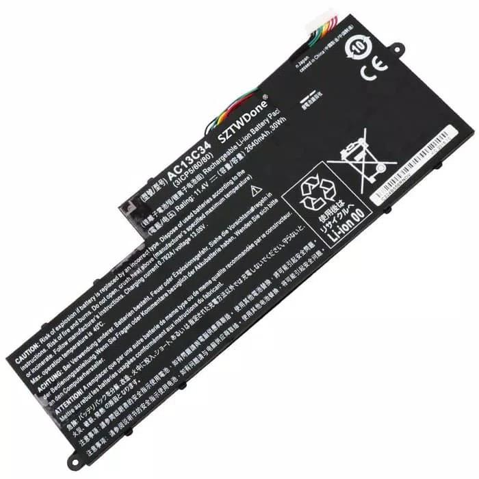 Baterai Acer Aspire V5 132 132P 122 122P AC13C34