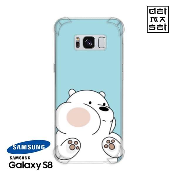 brand new c4a14 17ef5 Jual We Bare Bears Ice Bear 04 Casing Samsung Galaxy S8 Anti Crack Case HP  - Kota Bandung - DEIMASEI | Tokopedia