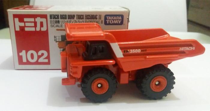 Takara Tomy Tomica 102 Hitachi Rigid Dump Truck EH3500AC II