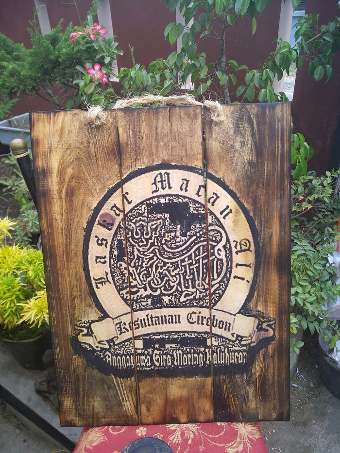 Gambar Logo Macan Ali Jual Sale Poster Lukisan Keraton Macan Ali Kesultanan Cirebon Kayu Jati Be Jakarta Barat Sabyan 121 Tokopedia