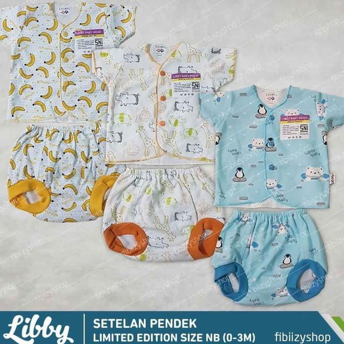 Libby Set Pendek Newborn 0 3m - Info Daftar Harga Terbaru Indonesia 66e0f8296c