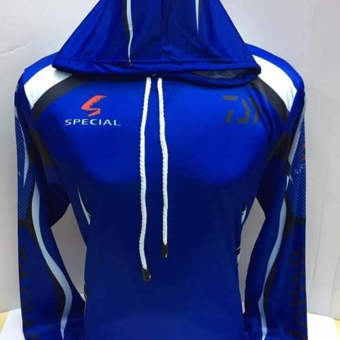 harga Jersey mancing daiwa biru Tokopedia.com