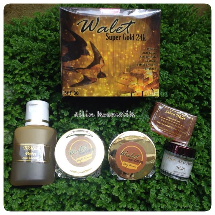 WALET SUPER GOLD 24K ORIGINAL MDS