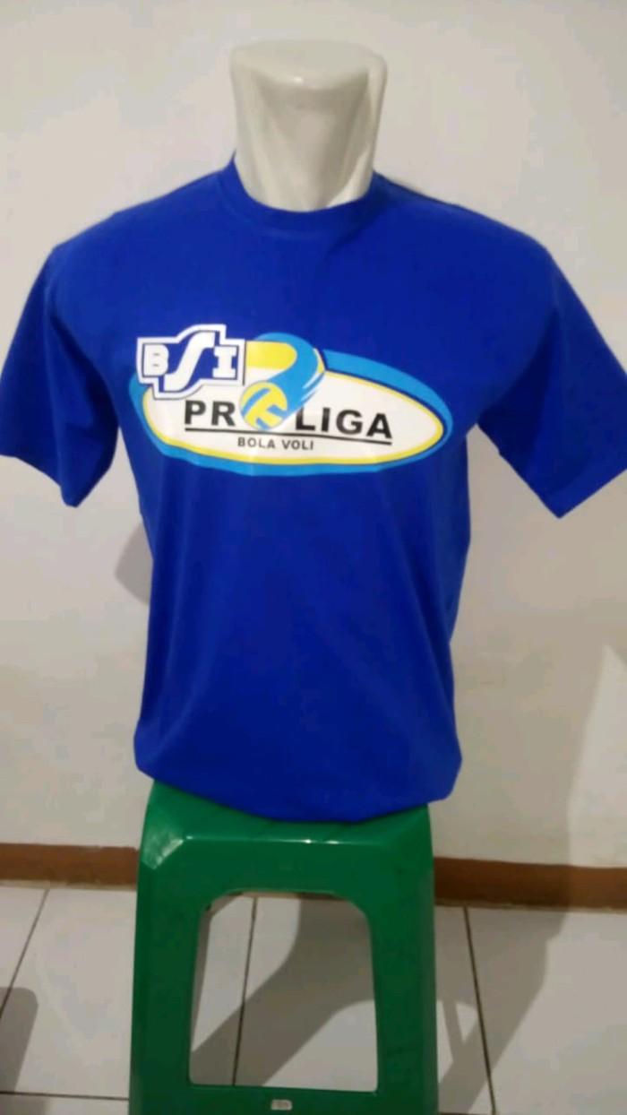 Jual Kaos Tshirt BSI PROLIGA BOLA VOLI Limited Jakarta Selatan Alokashop98