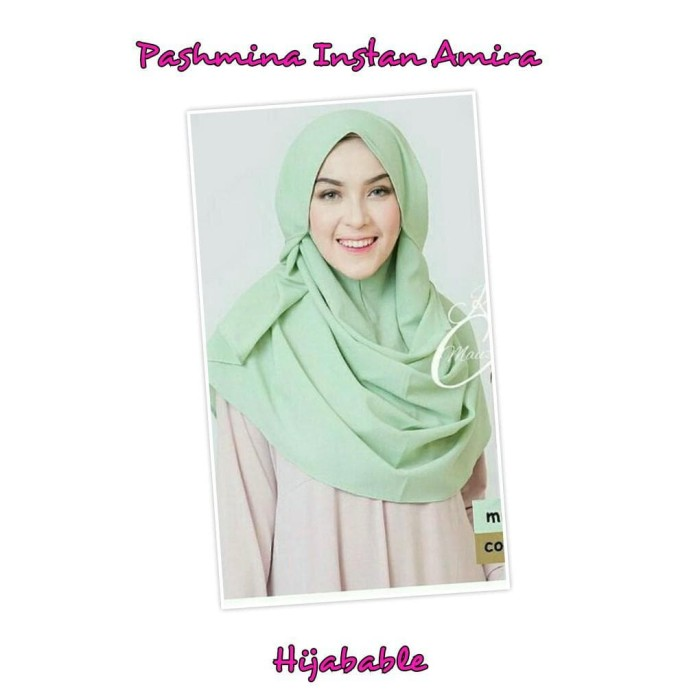 Jilbab Kerudung Hijab Pashmina Pasmina Instan Pastan Amira Tali Tassel
