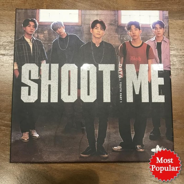Jual DAY6 SHOOT ME OFFICIAL PC/ALBUM ONLY/CLEAR COVER - DKI