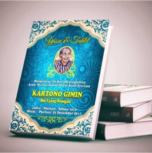 Jual Buku Yasin Tahlil Kab Kudus Dipoprint Kudus Tokopedia