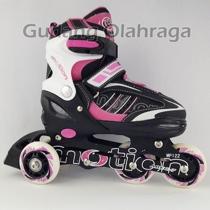 Jual Roller Skate Sepatu Roda BAJAJ Ban KARET Anak dan Dewasa Inline ... 848148bcfd
