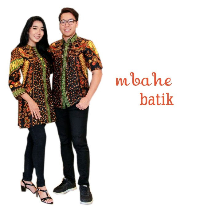 Jual Gamis Batik Kombinasi Polos Modern 2017 Kota Pekalongan Mbahe Batik Tokopedia