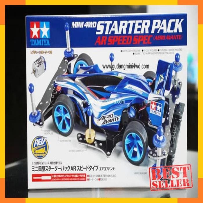 ... Tamiya Tamiya Mini 4WD Starter Pack AR Speed Type Aero Avante