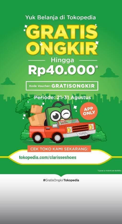 Jual Kode Voucher Gratis Ongkir Jakarta Barat Oryshop888 Tokopedia