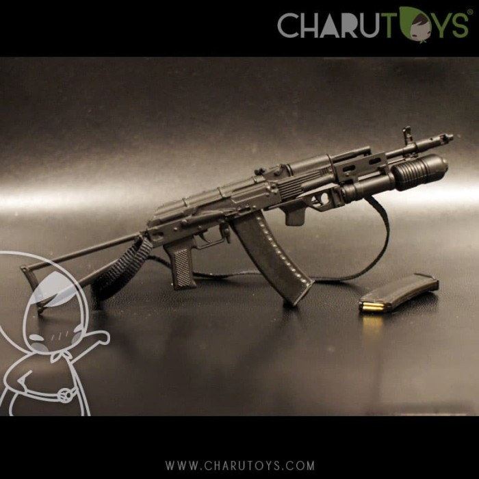 Foto Produk 1/6 Scale AKM-74 with GP-30 for Hot toys action figure dari Charu Toys
