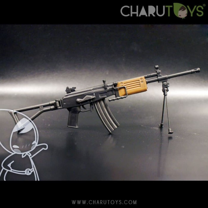 Foto Produk 1/6 Scale Galil ARM for Hot toys action figure dari Charu Toys