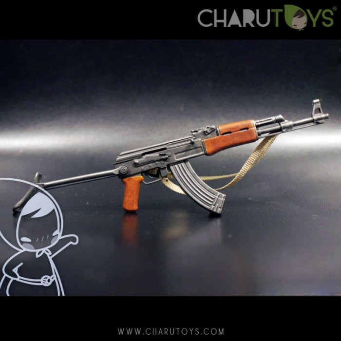 Foto Produk 1/6 Scale AKs-47 Type B for Hot toys action figure dari Charu Toys