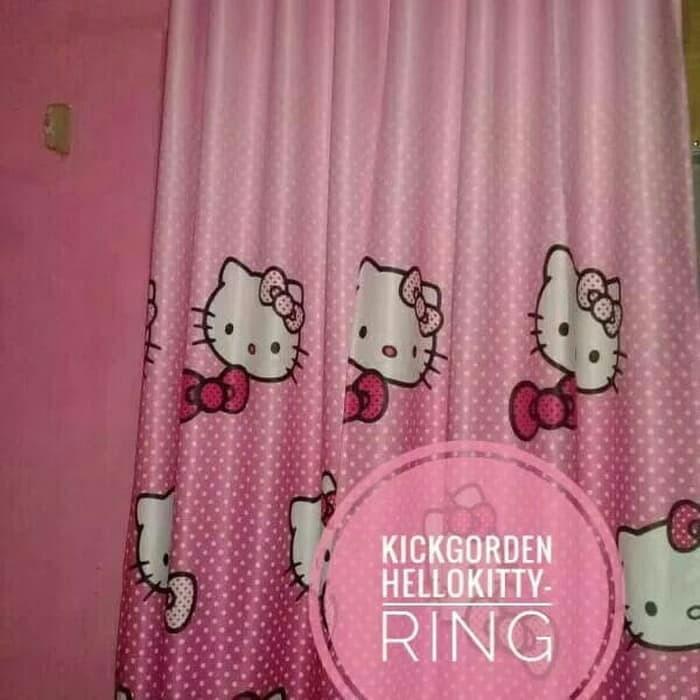 warna pink fanta mawar88shop Lazada Source · Tirai Benang Pintu Jendela Motif Love .
