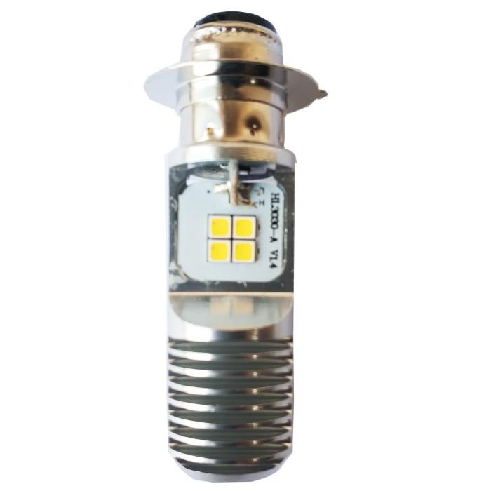 Osram Led T19 M5 K1 Lampu Utama Motor H6 Putih Ac Dc