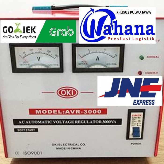 harga Stabilizer regulator listrik oki 3000 watt stabiliser Tokopedia.com