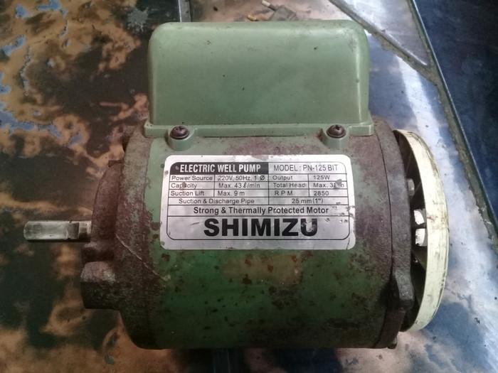 dinamo pompa air shimisu bekas gospol
