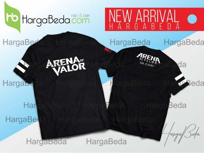 626088f2 Jual KAOS AOV OFFICIAL NEW 2 | ARENA OF VALOR | OFFICIAL HB ...