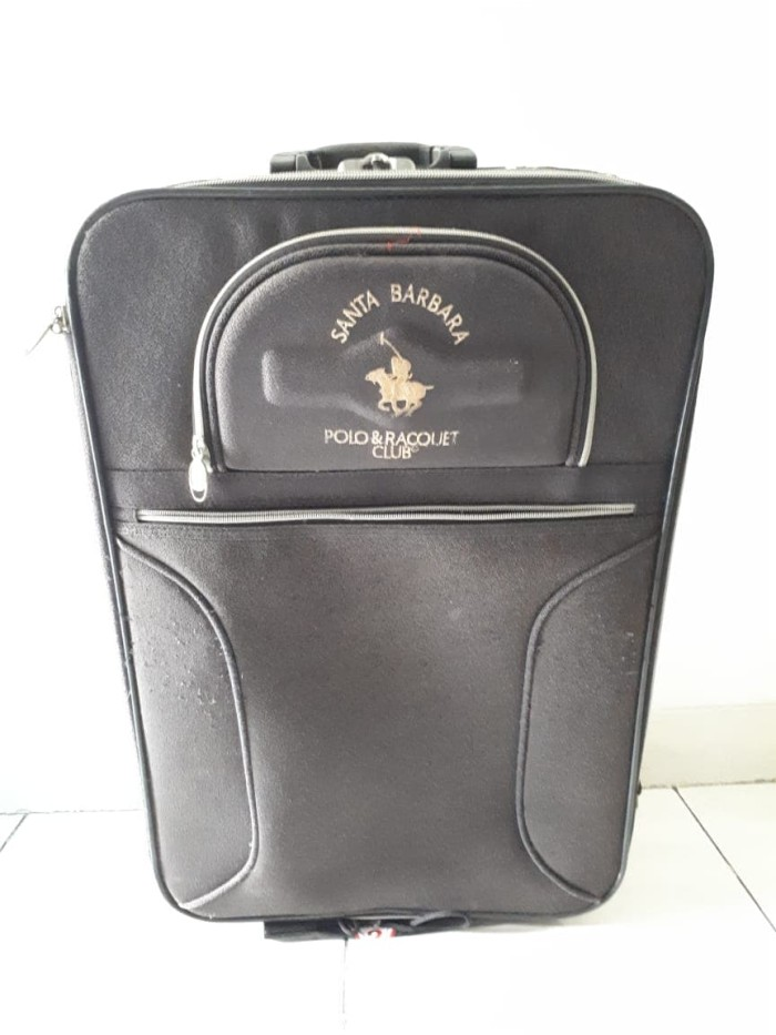 Koper Santa Barbara Polo and Racquet Club Luggage Tas Besar Bahan Kain