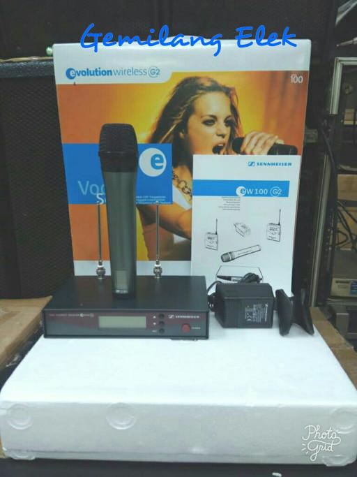 harga Mic wireless sennheiser ew100 g2 Tokopedia.com