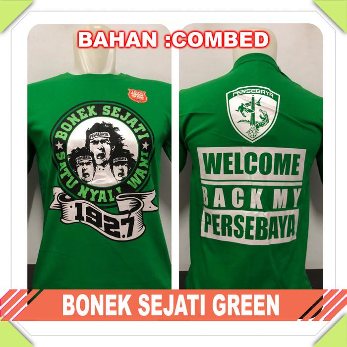harga Kaos baju bola club indo bonek sejati green Tokopedia.com