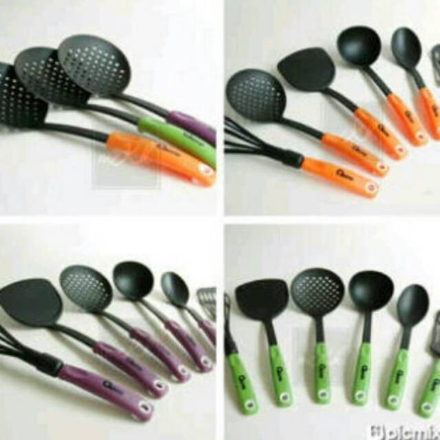 Ox 953 Oxone Spatula Sutil Nylon Warna Kitchen Tools.Gratis Ongki
