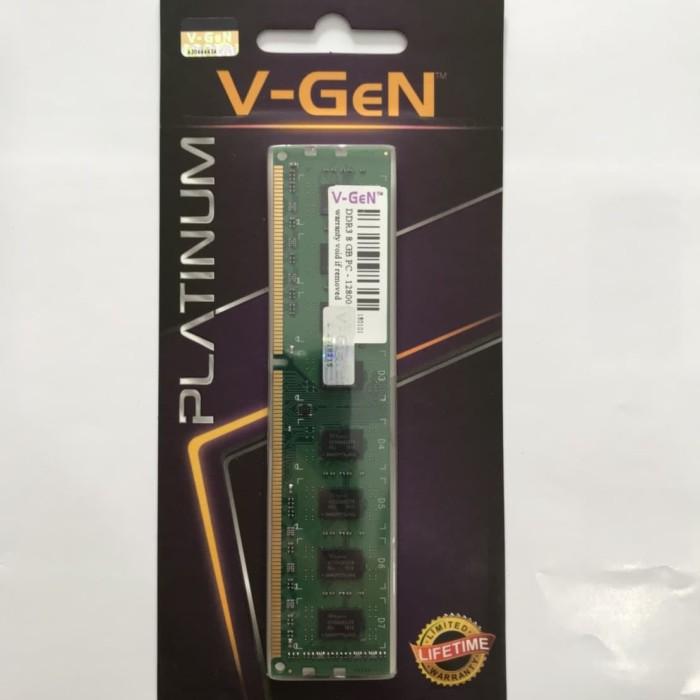 harga Ddr3 8gb pc-12800 / 1600mhz v-gen platinum Tokopedia.com