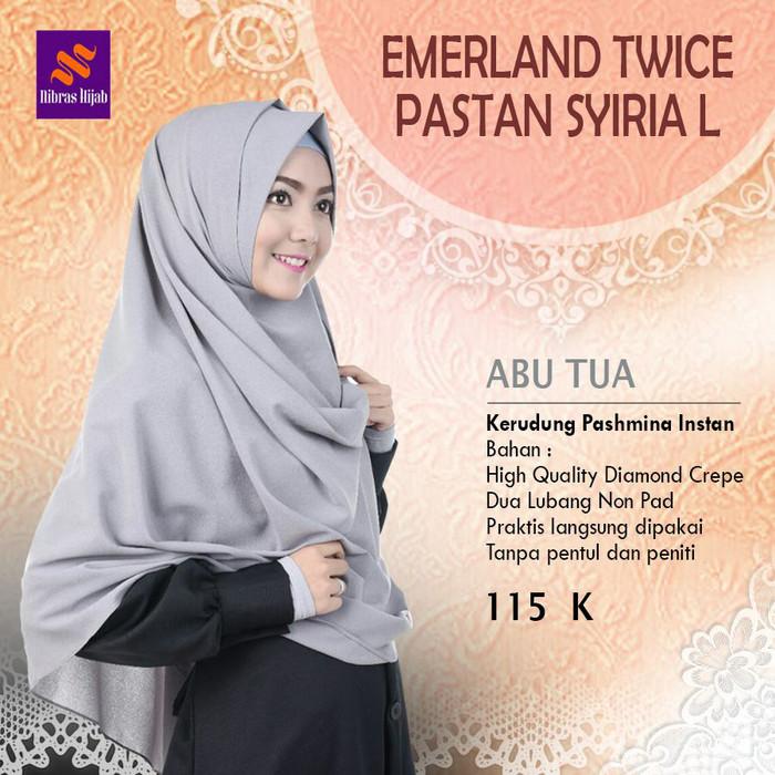 Jual Nibras Hijab Emerald Twice Abu Tua Pasmina Instan 2 Lubang Non Pet L Kota Tangerang Selatan Hibban Online Shop Tokopedia