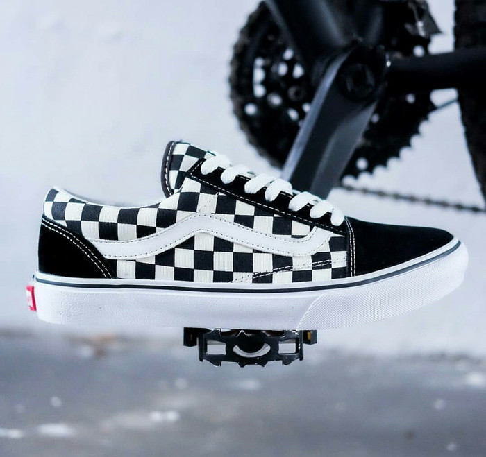 6ddf1f0f31 Vans old skool checkerboard black white japan market