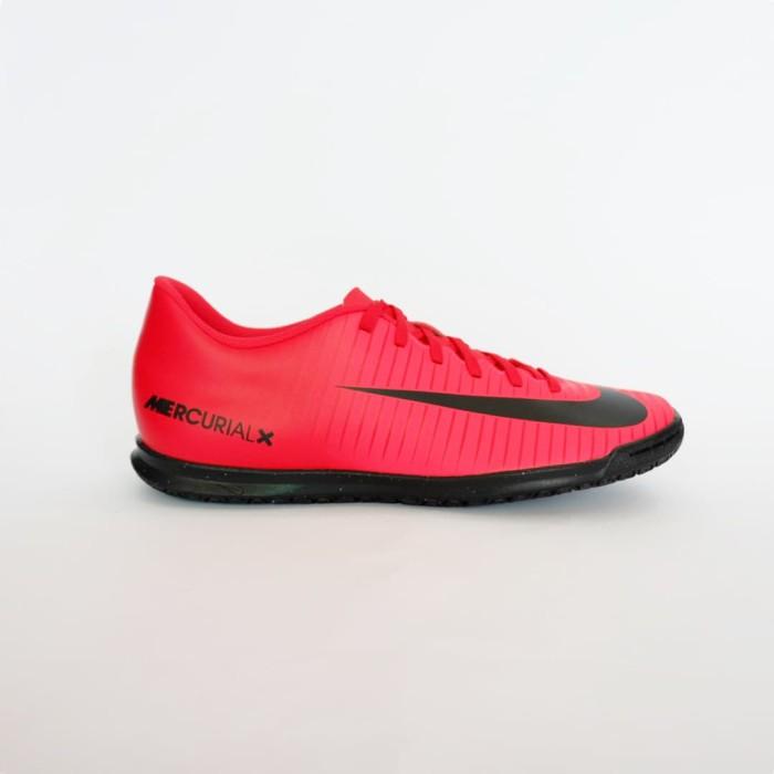 new york 78e3e b0415 Jual Sepatu Futsal Nike Mercurial x Vortex III IC - University Red/ Black -  Kota Padang - Rafhely Sport | Tokopedia