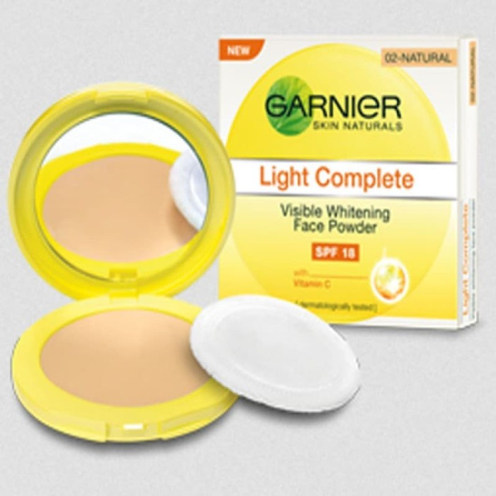 Garnier light complete face powder spf 18 (ivory)