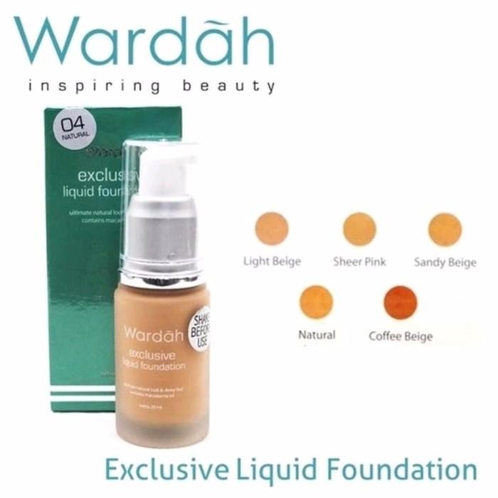 Katalog Foundation Produk Wardah Travelbon.com