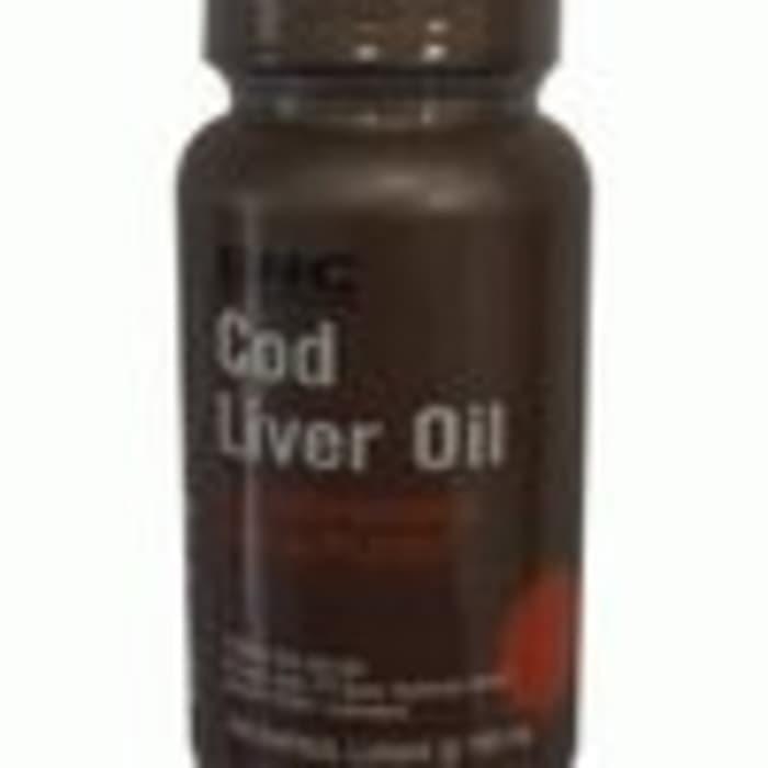 New GNC Cod Liver Oil - 100 kapsul lunak