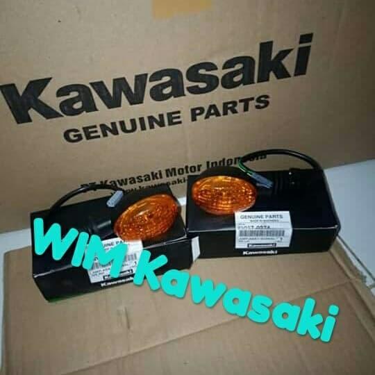 harga Lampu sen sein riting klx d-tracker 150 original kawasaki Tokopedia.com