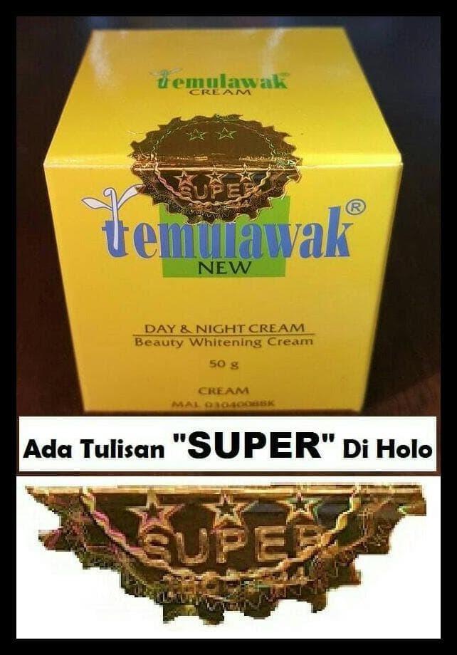 Cream Temulawak Malasyia Blink Blink Super Original Siangmalam 50gr ... e21ebd8393