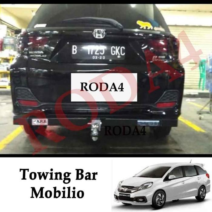 harga Towing bar besi bumper belakang arb mobilio panjang full Tokopedia.com
