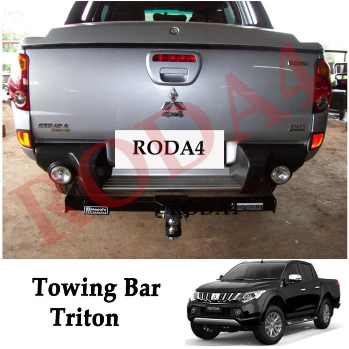 harga Towing bar besi bumper belakang arb triton panjang setengah Tokopedia.com