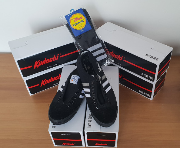 Foto Produk Sepatu capung kodachi 8111 hitam + kaos kaki dari SunZ Bicycle88