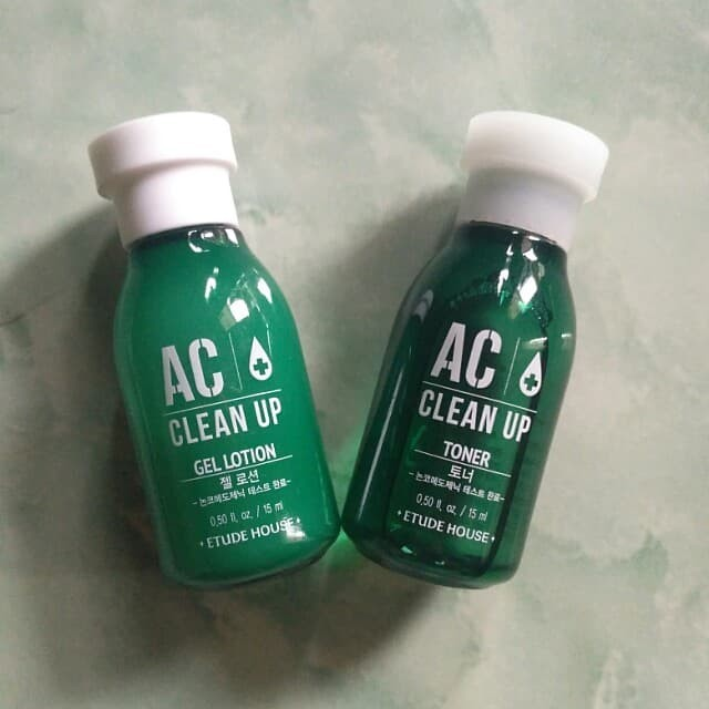 ETUDE HOUSE AC Clean Up Toner & Gel Lotion 15 ml