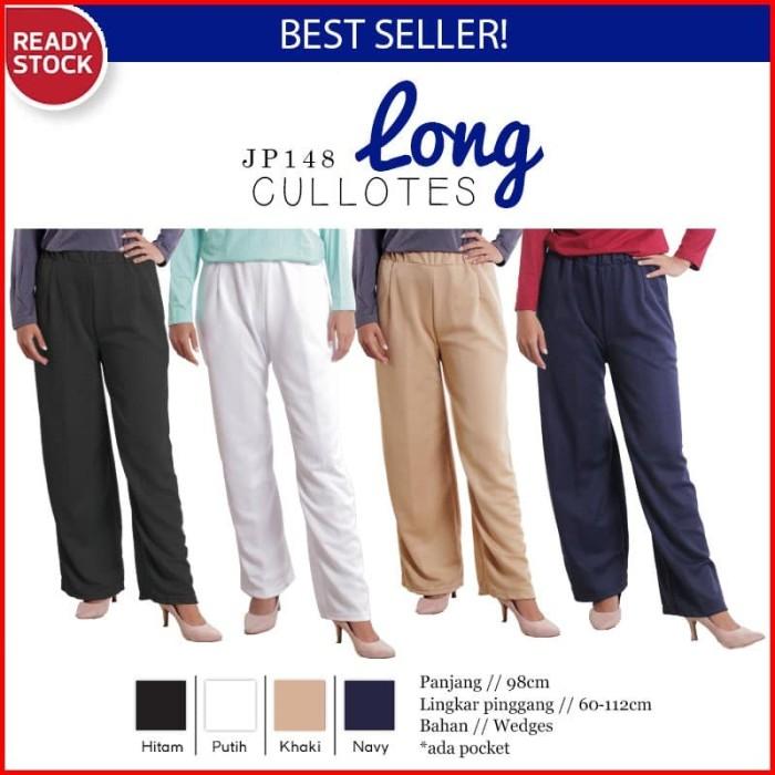 Celana Kulot Wanita Panjang Basic LONG CULLOTES Pants JP148!!