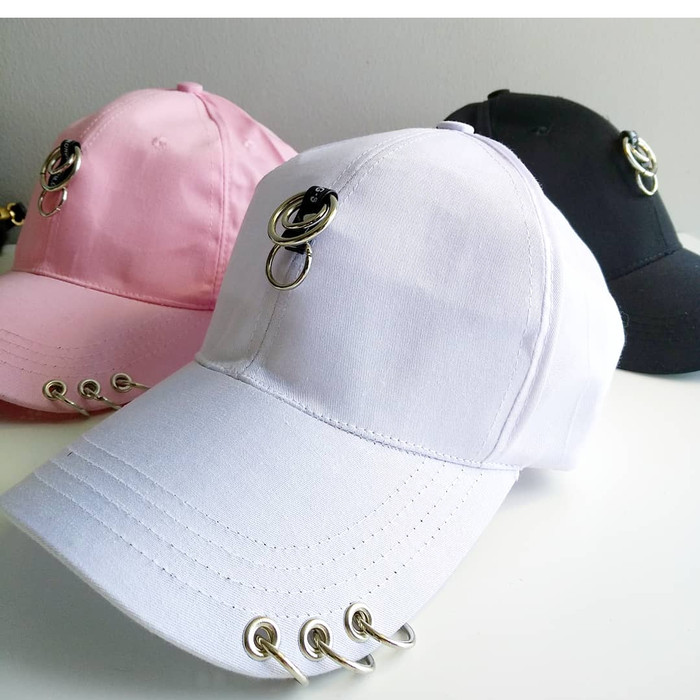 Jual Topi baseball FASHION RING tengah import korea kpop wanita pria ... cc60df4267