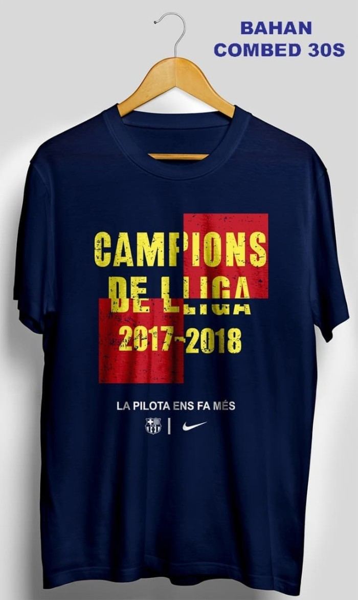 cee6db6c4a Jual KAOS PRIA WANITA DISTRO PANJANG POLOS COUPLE T SHIRT Barcelona ...