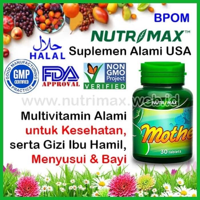 harga Nutrimax mother best vitamin nutrisi gizi untuk/buat ibu hamil & janin Tokopedia.com