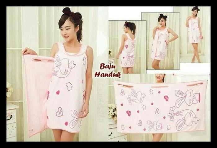 Baju Handuk,Wearable Towel,Handuk Multifungsi Kimono