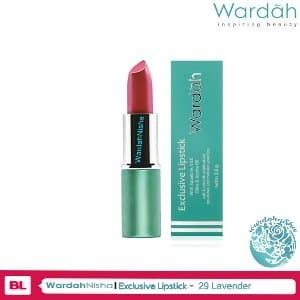 Wardah Lipstick Exclusive 29 Lavender Diskon