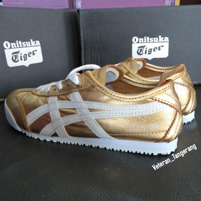 cheap for discount 6c594 62646 Jual Asics Onitsuka Tiger Mexico 66 D5R1L Gold White Original Indonesia -  Kab. Tangerang - KERTAWIJAYA SHOP | Tokopedia