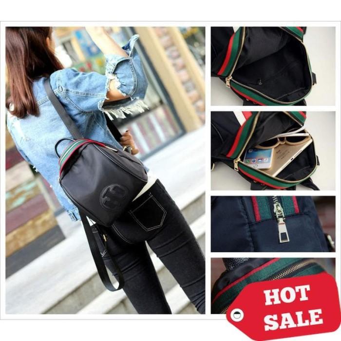 Tas Ransel Kulit Pu Import Korean Style Bagus Fashion Branded Wanita ... a3a019fefa