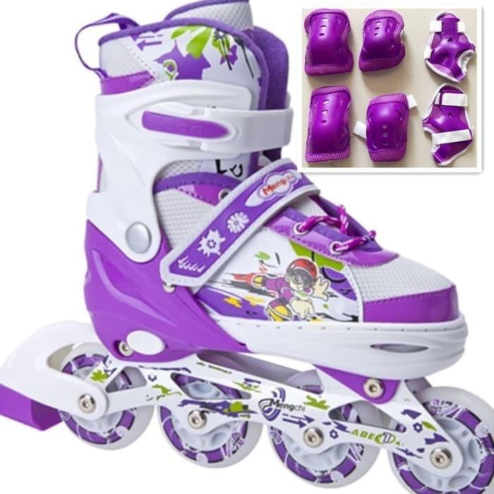 Jual Sepatu Roda BAJAJ Deker Pelindung Inline Skate Satu Set  230e09975d